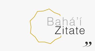 Bahá'í-Zitate